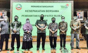 Wujudkan Satu Data Indonesia, Pemerintah Kabupaten Blora Bekerjasama dengan BigBox PT Telkom Indonesia